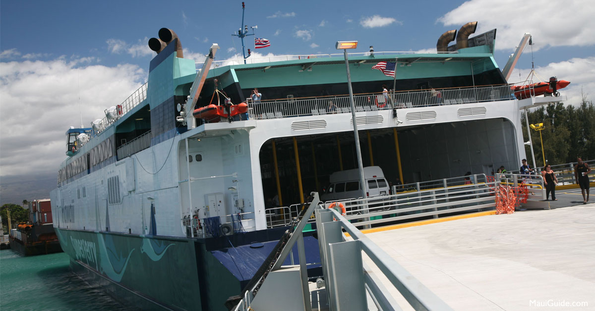 Hawaii Superferry Tickets