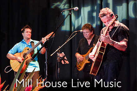 hapa music playing at the mill house