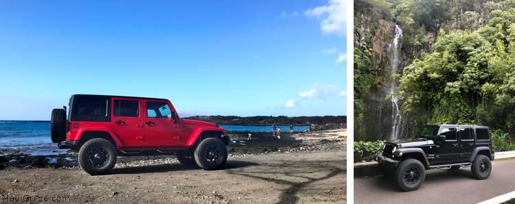 jeep at La Perouse
