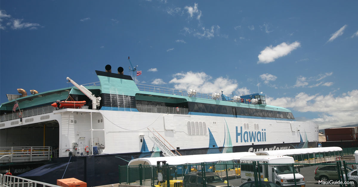 Hawaii Interisland Superferry