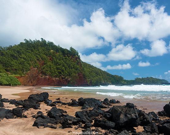 Koki Beach Hana Maui