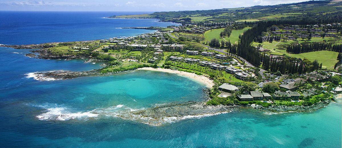 Kaaplua Bay Maui Hawaii
